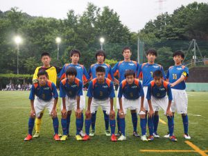 U-15 高円宮杯 2016年度 第9回 東京都ユース(U-15)サッカーリーグ(Tリーグ2016 全都リーグ 第7節)