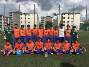 U-15 第4回 TAISEI soccer cup